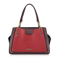 Dámská kabelka, červeno-černá, 89-4Y-404-2, Obrázek 1