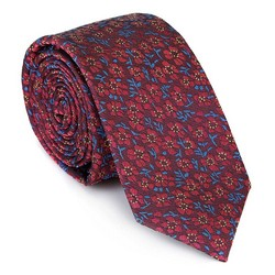 Kravata, červeno-modrá, 92-7K-001-X5, Obrázek 1