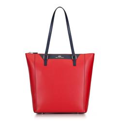 Dámská kabelka, červeno-tmavě modrá, 88-4E-400-3, Obrázek 1