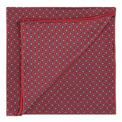 Kapesníček do saka, červeno-tmavě modrá, 89-7P-001-X5, Obrázek 1