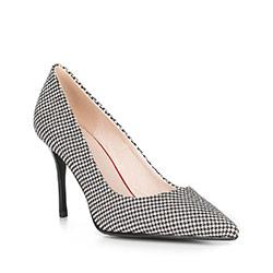 Обувь женская, черно-белый, 90-D-952-1-37, Фотография 1
