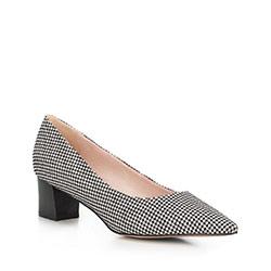 Обувь женская, черно-белый, 90-D-953-1-35, Фотография 1