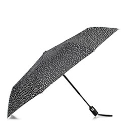 Маленький автоматический зонт, черно-белый, PA-7-154-X6, Фотография 1