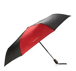 Автоматический двухцветный зонт, черно-бордовый, PA-7-162-12, Фотография 1