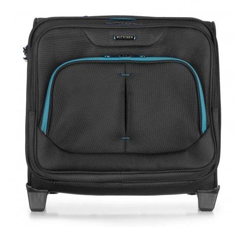 Несессер на колесах, черно-голубой, 56-3S-634-19, Фотография 1