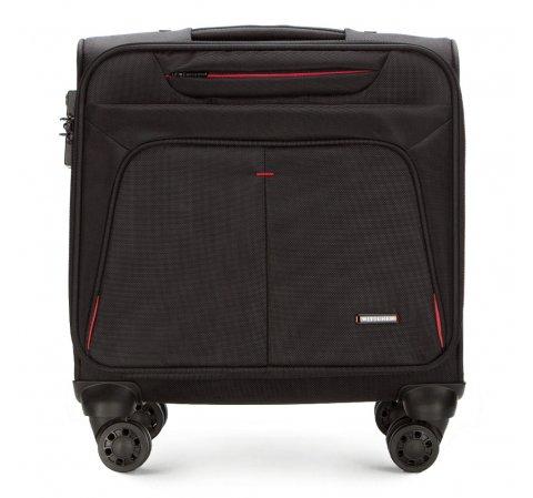 Несессер для ноутбука на колесах, черно-красный, 56-3S-634-13, Фотография 1
