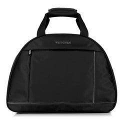 Дорожная сумка, черно-серый, 56-3S-465-12, Фотография 1