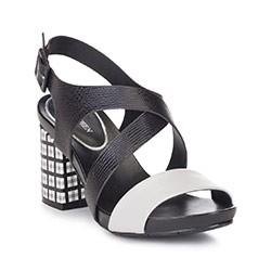 Обувь женская, черно-серый, 88-D-558-1-39, Фотография 1