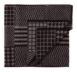 Шарф мужской, черно-серый, AP-7-043-27, Фотография 1