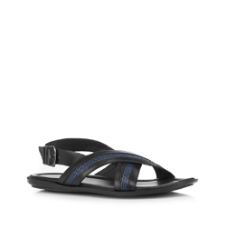 Обувь мужская, черно-синий, 88-M-940-1-42, Фотография 1
