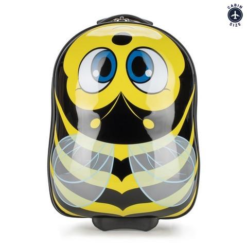 Детский чемодан, черно - желтый, 56-3K-006-B, Фотография 1