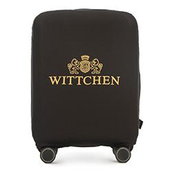Чехол для маленького чемодана, черно-золотой, 56-30-031-10, Фотография 1