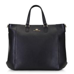 Женская сумка с чехлом для нетбука, черно-золотой, 92-4E-645-1, Фотография 1