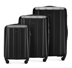 Комплект чемоданов, черный, 56-3P-11S-10, Фотография 1