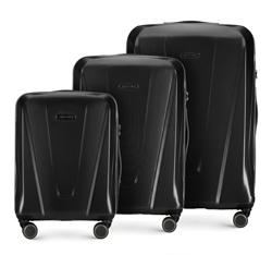 Комплект чемоданов, черный, 56-3P-12S-10, Фотография 1