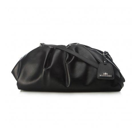 Большая кожаная сумка, черный, 91-4E-628-1, Фотография 1