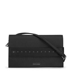Большая сумка клатч с заклепками, черный, 91-4Y-712-1, Фотография 1