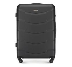 Большой чемодан из ABS пластика, черный, 56-3A-403-11, Фотография 1