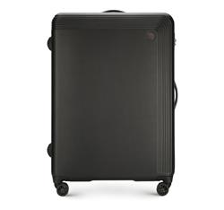 Большой чемодан, черный, 56-3A-623-10, Фотография 1