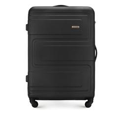 Большой чемодан, черный, 56-3A-633-10, Фотография 1