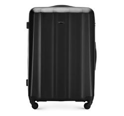 Большой чемодан, черный, 56-3P-113-10, Фотография 1