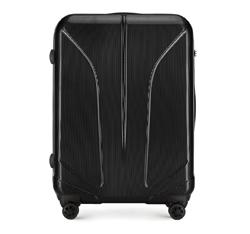 Большой чемодан, черный, 56-3P-813-10, Фотография 1