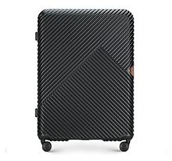Большой чемодан, черный, 56-3P-843-10, Фотография 1