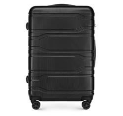 Большой чемодан, черный, 56-3P-983-11, Фотография 1