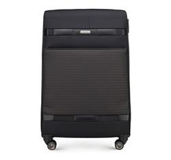 Большой чемодан, черный, 56-3S-553-10, Фотография 1