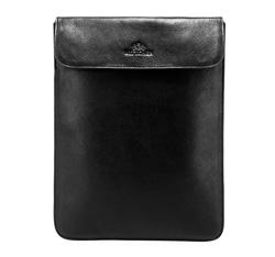 Гладкий кожаный чехол для планшета, черный, 21-2-026-1, Фотография 1