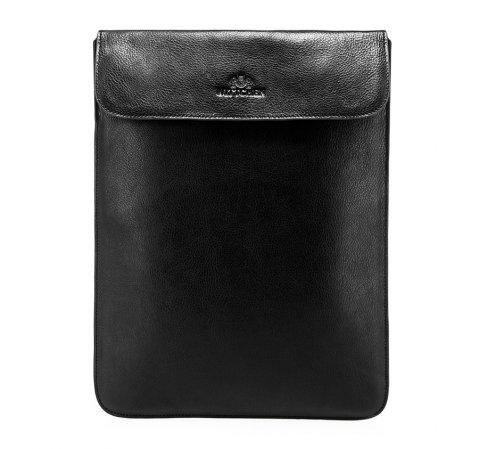 Гладкий кожаный чехол для планшета, черный, 21-2-026-3, Фотография 1
