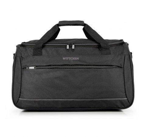 Дорожная сумка, черный, 56-3S-466-01, Фотография 1