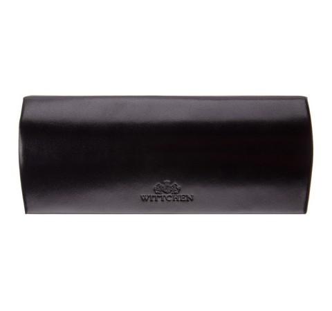 Кожаный футляр для очков, черный, 21-2-164-4, Фотография 1