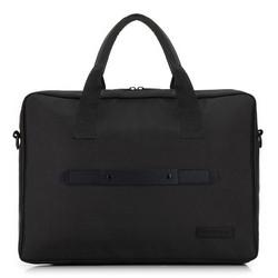 """Классическая мужская сумка для ноутбука 15,6 """", черный, 91-3P-700-1, Фотография 1"""