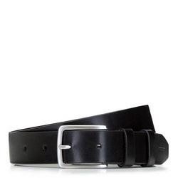 Классический мужской кожаный ремень, черный, 92-8M-500-1-10, Фотография 1