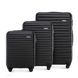 Комплект чемоданов, черный, 56-3A-31S-11, Фотография 1