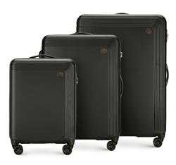 Комплект чемоданов, черный, 56-3A-62S-10, Фотография 1