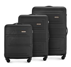 Комплект чемоданов, черный, 56-3A-63S-10, Фотография 1