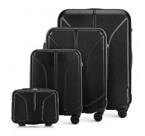 Комплект чемоданов, черный, 56-3P-81K-10, Фотография 1
