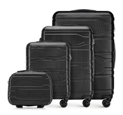 Комплект чемоданов, черный, 56-3P-98K-11, Фотография 1