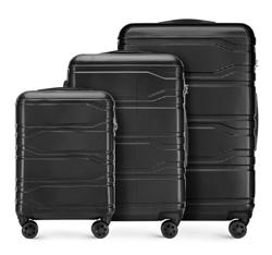 Комплект чемоданов, черный, 56-3P-98S-11, Фотография 1