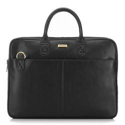 Кожаная сумка для ноутбука, черный, 91-3U-301-1, Фотография 1