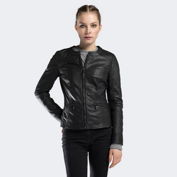 Куртка женская, черный, 90-09-201-1-S, Фотография 1