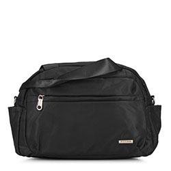Маленькая нейлоновая дорожная сумка, черный, 92-4Y-104-1, Фотография 1