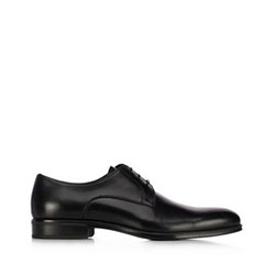Мужские кожаные туфли, черный, 91-M-907-1-40, Фотография 1