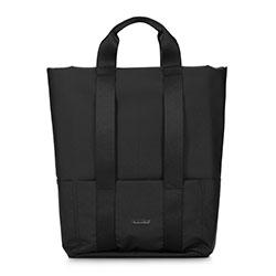 """Мужской рюкзак для ноутбука 15,6"""" современный, черный, 92-3P-907-1, Фотография 1"""