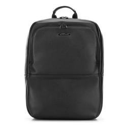 Мужской рюкзак для ноутбука из экокожи, черный, 91-3P-603-1, Фотография 1
