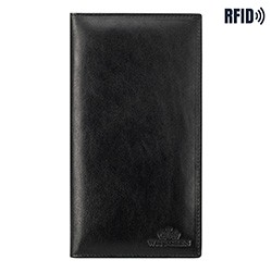 Обложка для паспорта, черный, 14-2-200-L1, Фотография 1