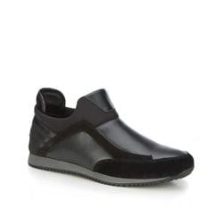 Туфли мужские, черный, 87-M-928-1-43, Фотография 1