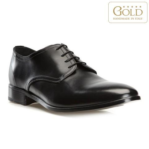 Кожаные мужские туфли, черный, BM-B-574-1-41_5, Фотография 1